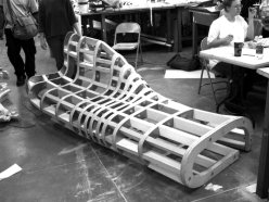 bench frame construction